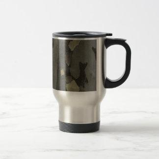 Nature's Camouflage -Sycamore Bark mug