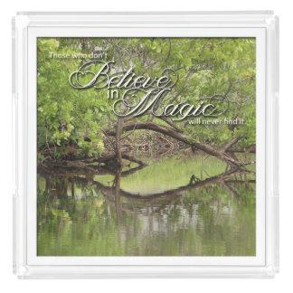 Nature's Folio DAILY INSPIRATIONS Gift Ideas . . . Acrylic Tray