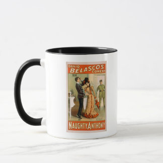"Naughty Anthony ""At It Again"" Theatre Poster Mug"
