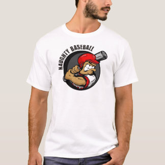 NAUGHTY BASEBALL T-Shirt