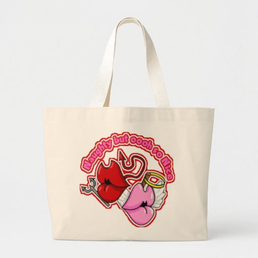 Naughty But Oh So Nice - Jumbo Tote Tote Bag