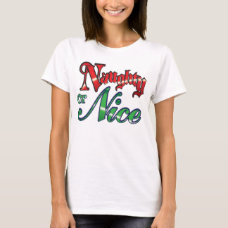 naughty Christmas t-shirt