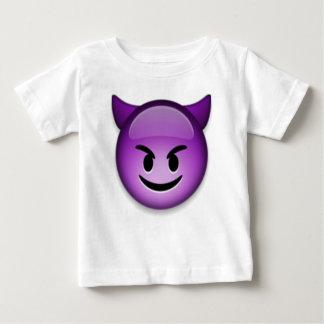 Naughty Emoji face Baby T-Shirt