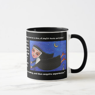 Naughty Flying Nun - Mug of Quotes