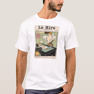 Naughty french 1901 humoristic newspaper. T-Shirt