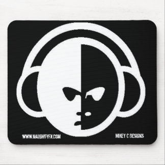 Naughty Fx Dj Face Mouse Pad