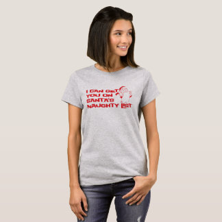 """Naughty List"" T-Shirt"