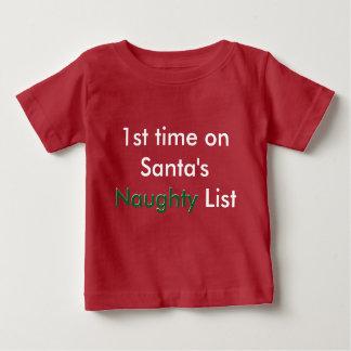 Naughty: Naughty List Again Tee