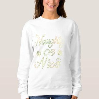 Naughty or Nice Holiday Sweatshirt | Aidensworld21