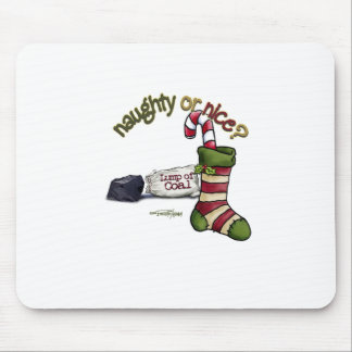 Naughty or Nice Mouse Pad