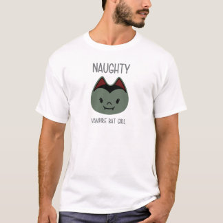 Naughty - Vampire Bat Girl T-Shirt