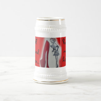 Naughty Wife Pin-up Beer Steins