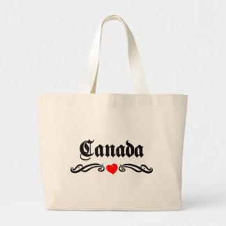 Nauru Tattoo Style Canvas Bag