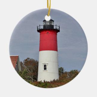 Nauset Lighthouse Christmas Ornament