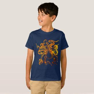 Nautical amber octopus T-Shirt