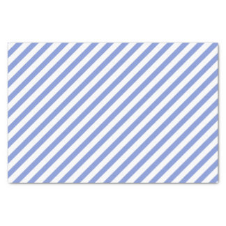 Nautical Blue and White Stripes - Tissue paper
