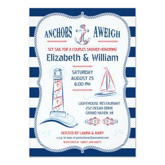 Nautical Couples Shower Invitation