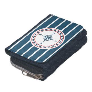 Nautical design wallets