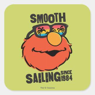 Nautical Elmo Square Sticker