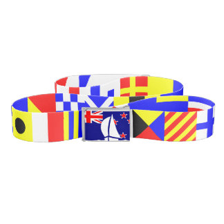 Nautical Flags New Zealand Flag Sailing Yacht Belt