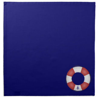 Nautical Life preserver Napkin