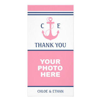 Nautical Photo Thank You Photo Greeting Card