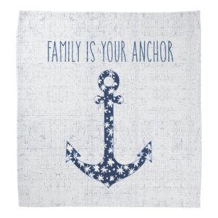 Quotes Family Bandanas Handkerchiefs Zazzleconz