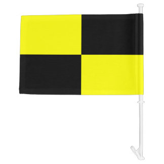 Nautical Signal Flag Lima Letter L