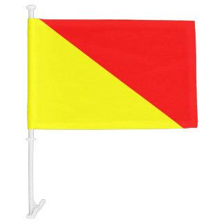 Nautical Signal Flag Oscar Letter O