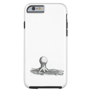 Nautical steampunk vintage octopus book drawing tough iPhone 6 case