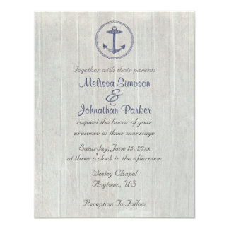 Nautical Theme | Anchor Card
