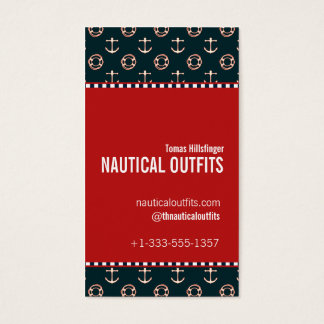 Nautical Theme Business Card