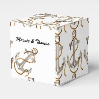 Nautical Theme Favor Box Wedding Favour Boxes