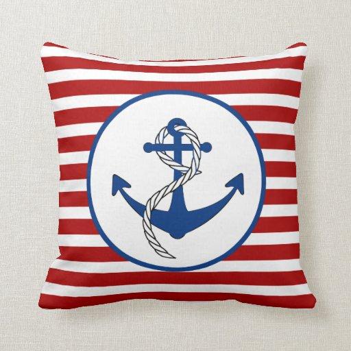 Nautical Themed Anchor Pillows