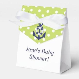 Nautical Themed Boy Baby Shower Favor Box!