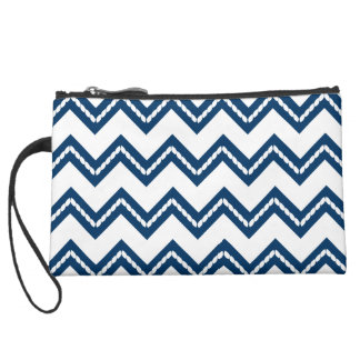 Nautical Themed Chevron Bag