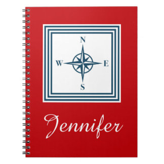 Nautical themed design note books