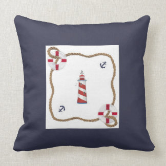 Nautical Themed Throw Pillow