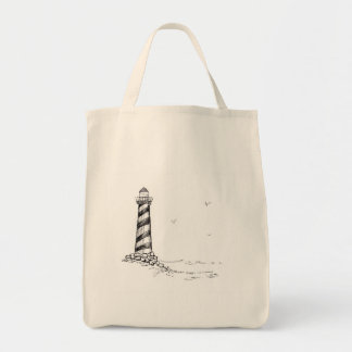 Nautical Themes Grocery Tote Bag