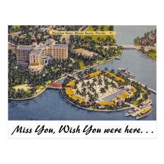 Nautilus Hotel, Miami Beach Postcard