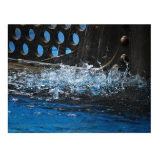 Nautilus Splashing Postcard