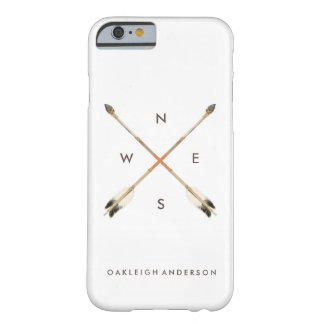 Navajo | Arrow Compass | Watercolor Barely There iPhone 6 Case