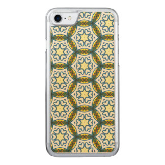 NAVAJO ART DECO CIRCLE PATTERN CARVED iPhone 8/7 CASE