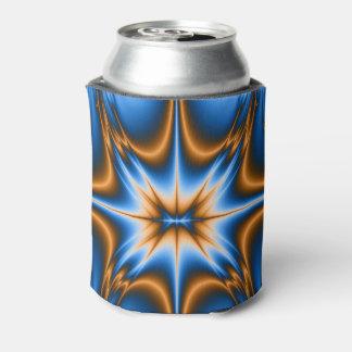 Navajo Fractal Star Can Cooler