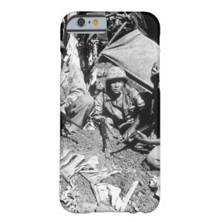 Navajo Indian communication men_War Image Barely There iPhone 6 Case