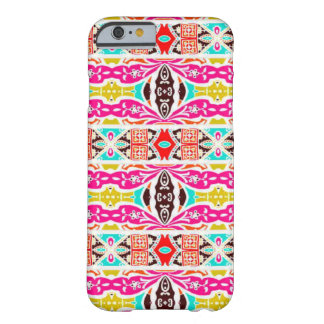 NAVAJO PINK TRIBAL PATTERN BARELY THERE iPhone 6 CASE
