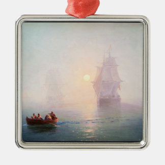 Naval Ship Ivan Aivazovsky seascape waterscape sea Christmas Ornament