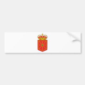 Navarra (Spain) Coat of Arms Bumper Sticker