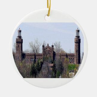 Navesink Twin Lights Lighthouse Christmas Ornament