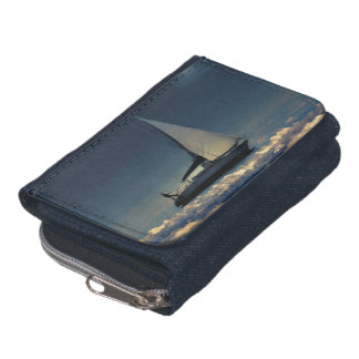 Navigating Trough Clouds Dreamy Collage Wallets